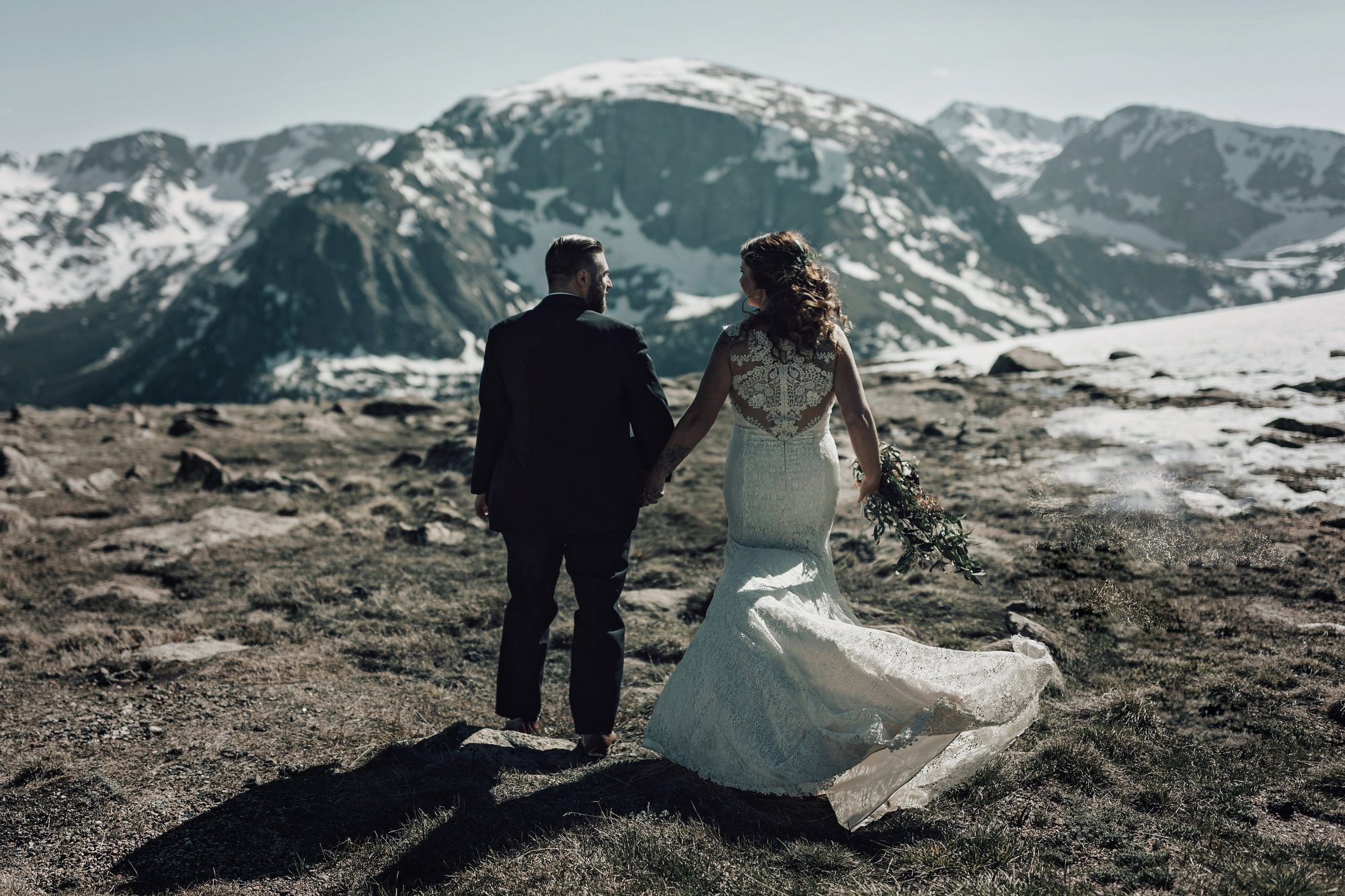 couple with scenic views