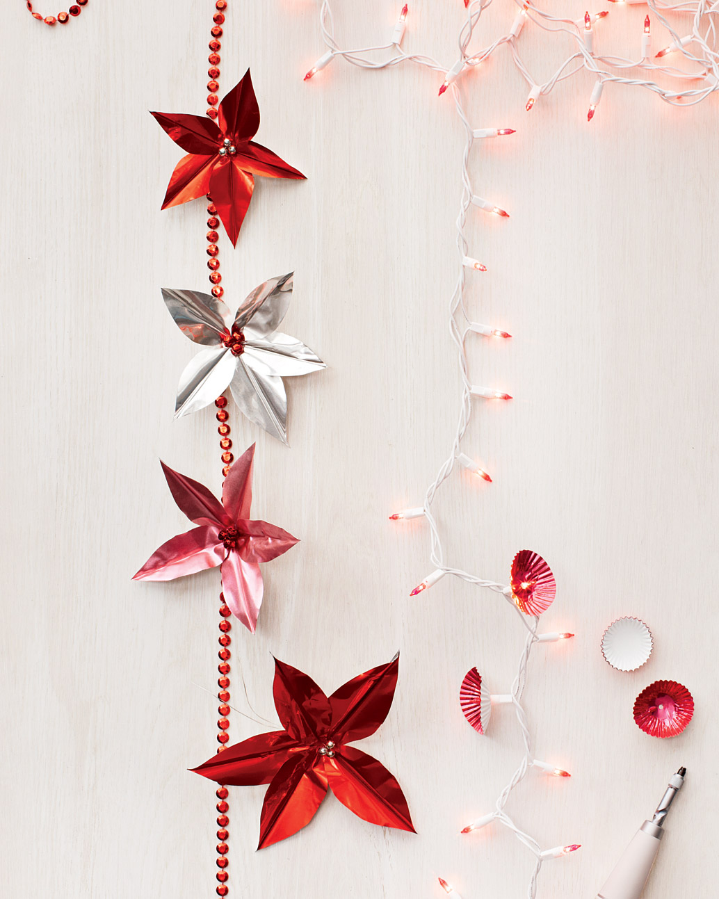 Candy Cup Holiday Lights