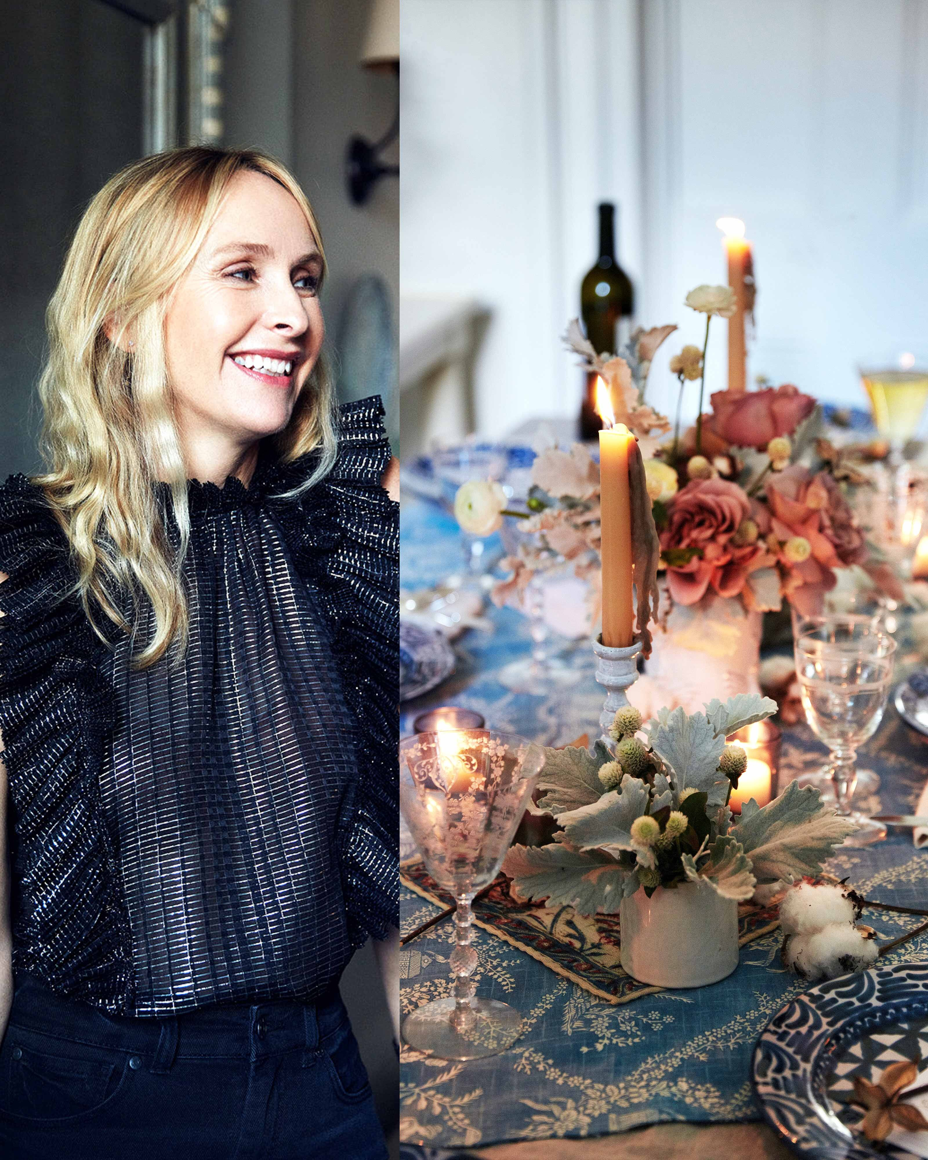 Rebecca Taylor Shows Us How To Throw A Feminine Holiday Party Martha Stewart
