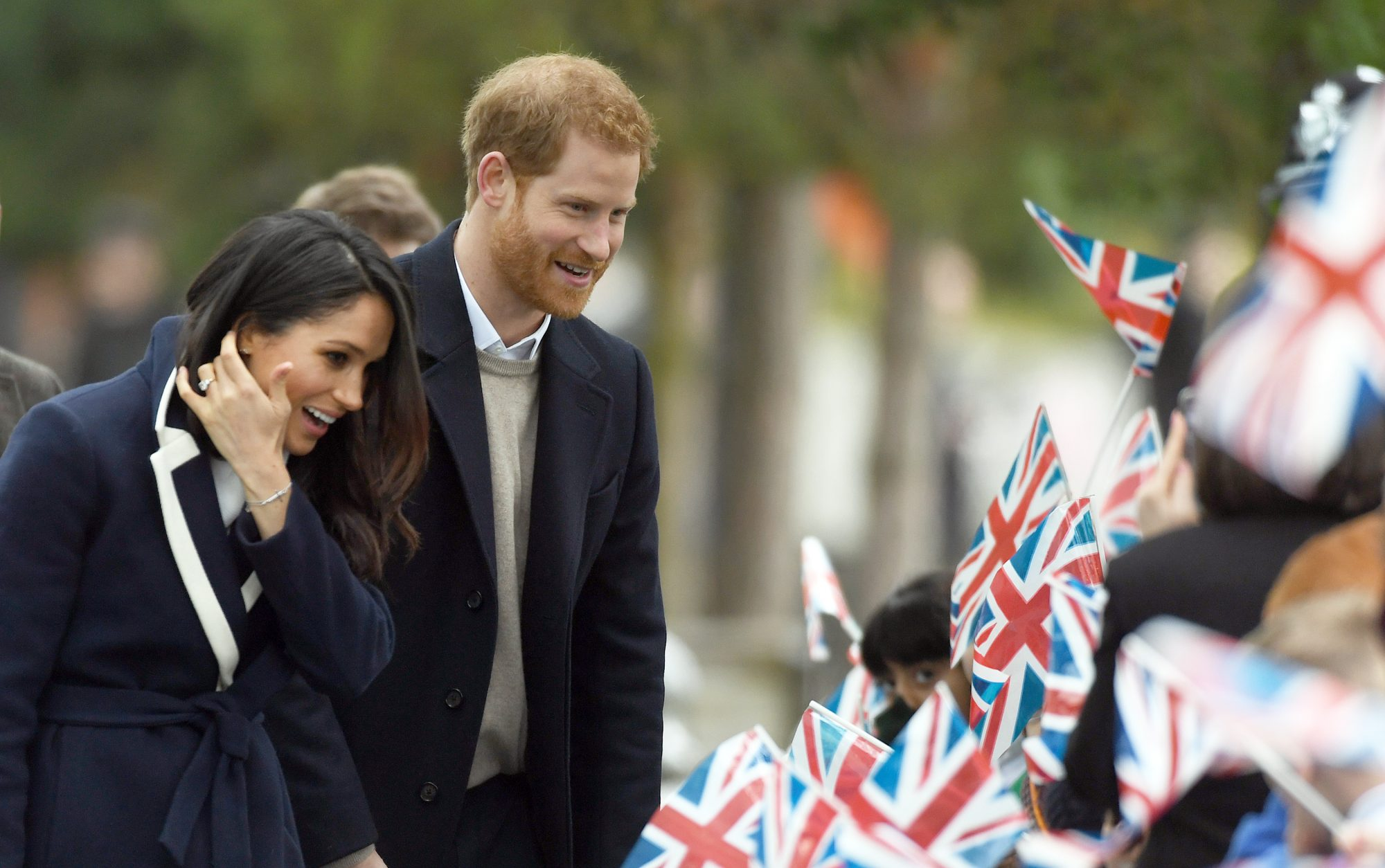 Meghan Markle and Prince Harry in Birmingham