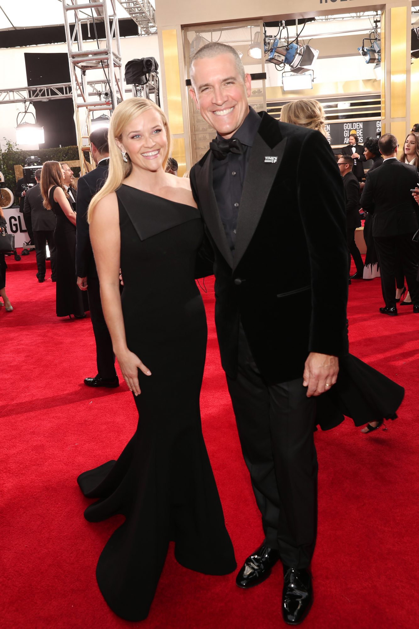 Reese Witherspoon and Jim Toth Golden Globes 2018