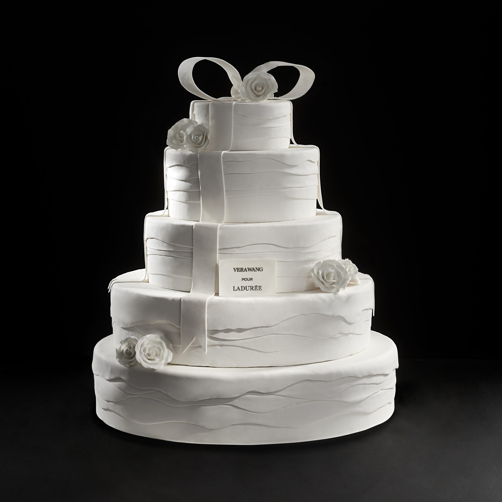 Vera Wang for Laduree Wedding Cake