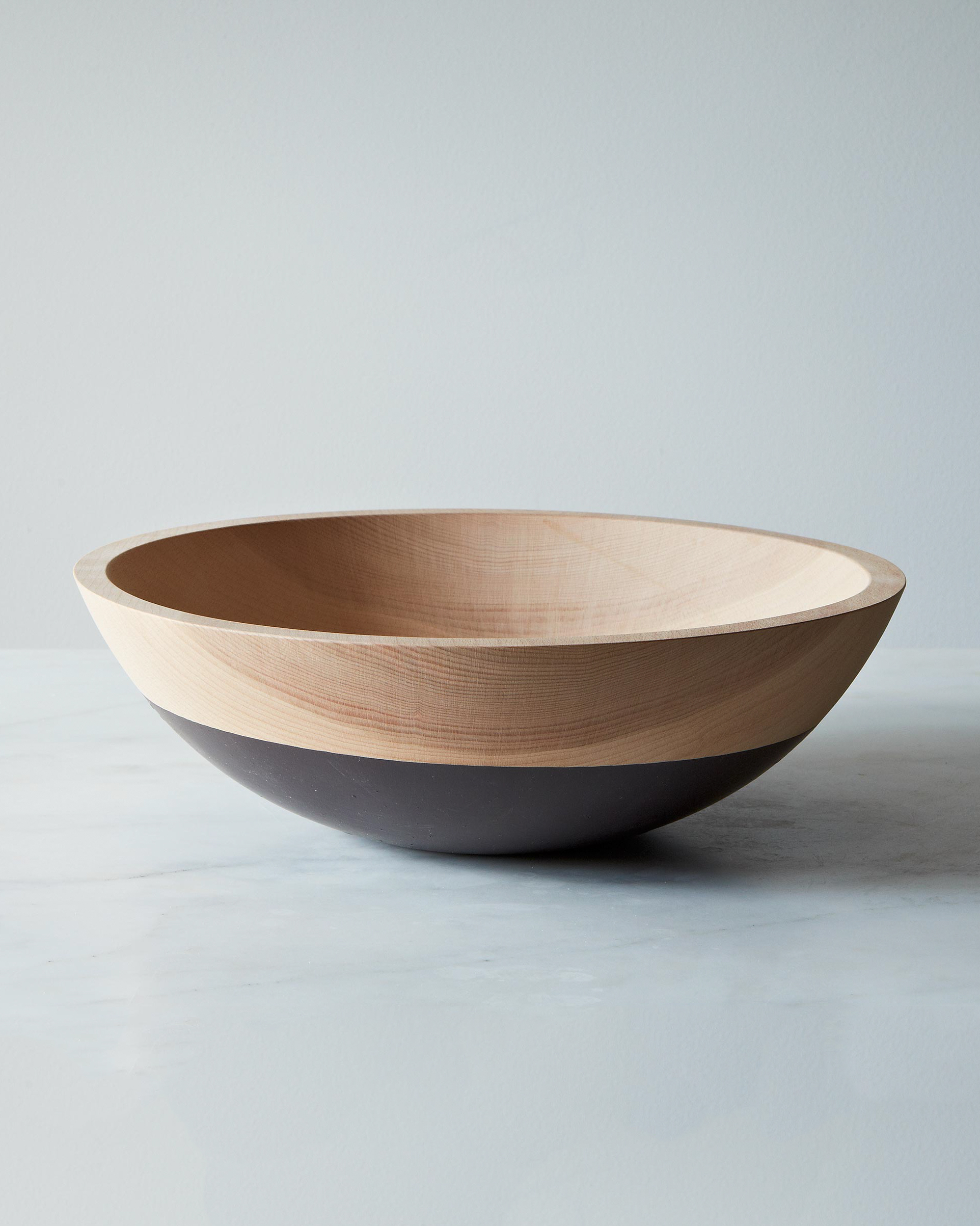 Willful Hand-Dipped Beech Wood Bowl