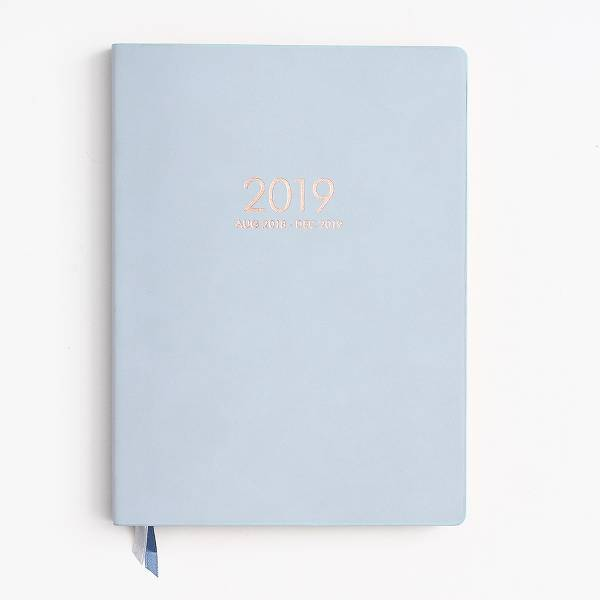 Dove Grey Large Planner