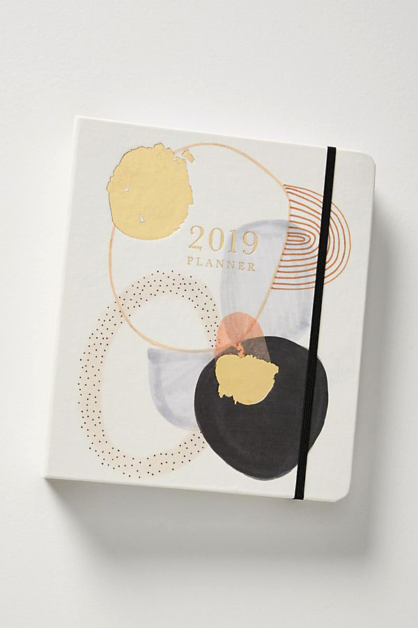 anthropologie daily planner 2019