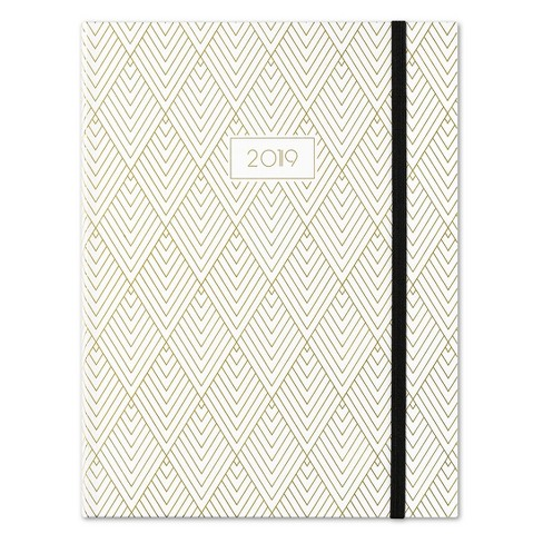 Deco Diamond Gold Planner