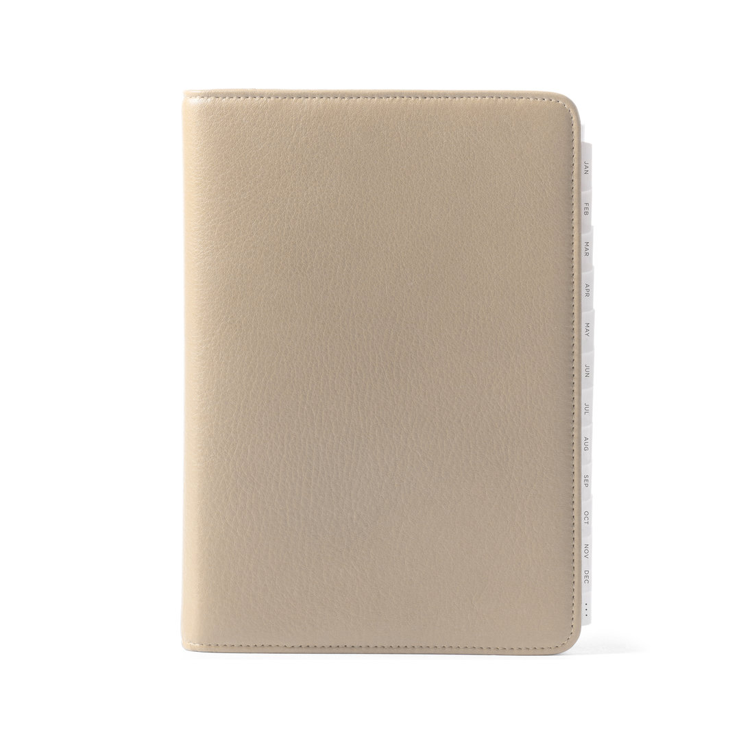 leatherology daily planner 2019 tan
