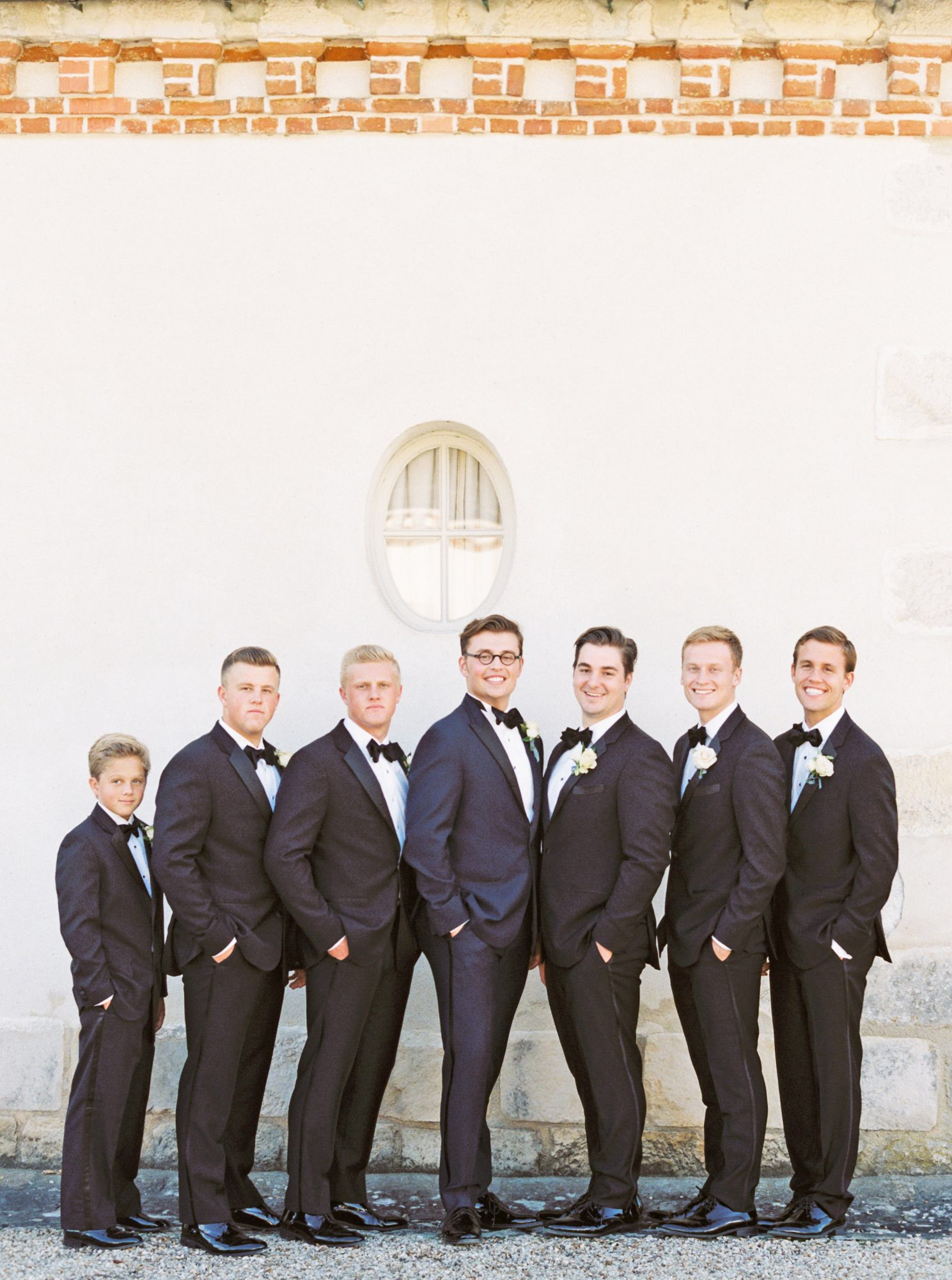 rachael cameron wedding groomsmen