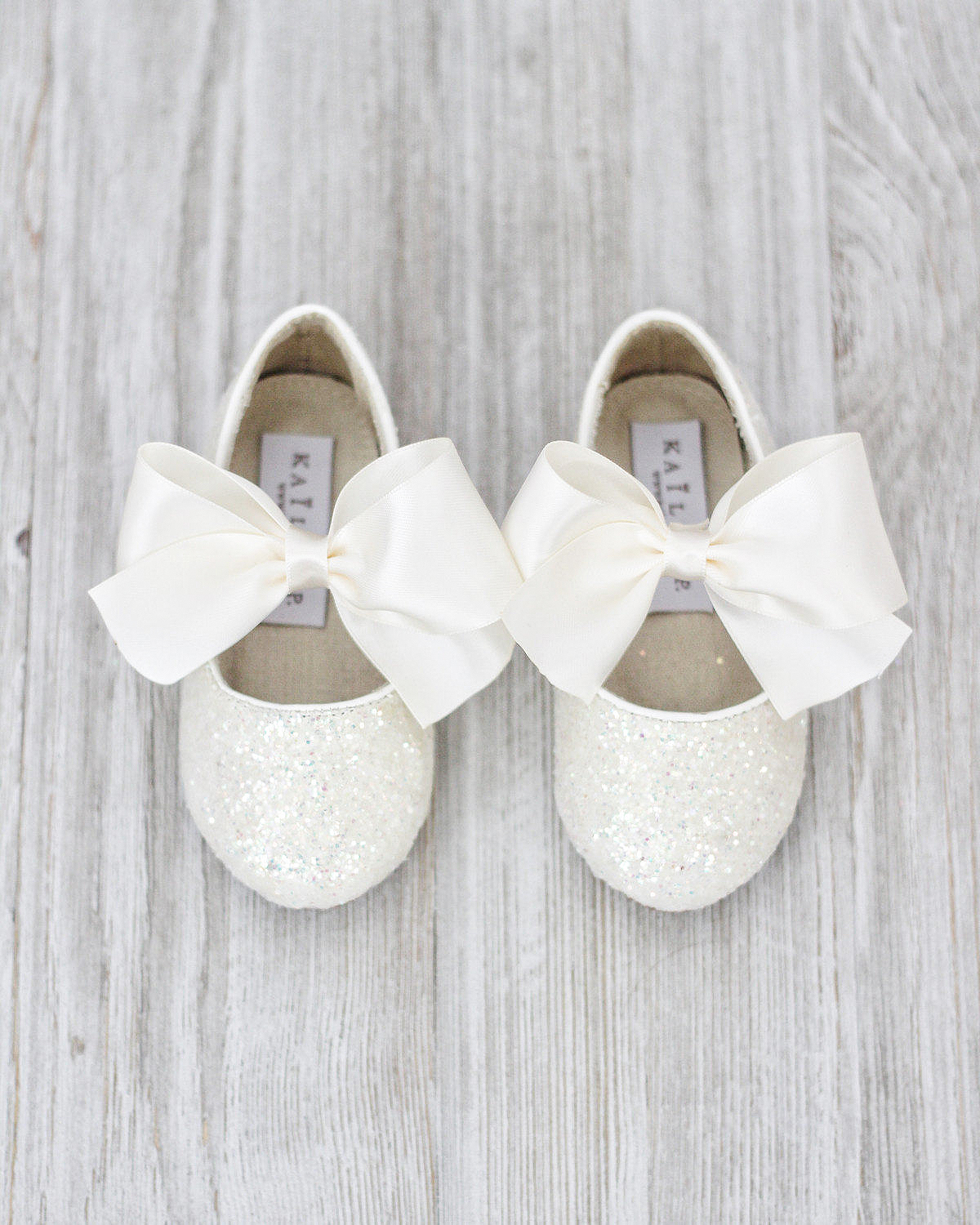 flower girl shoes white lace ballet slippers