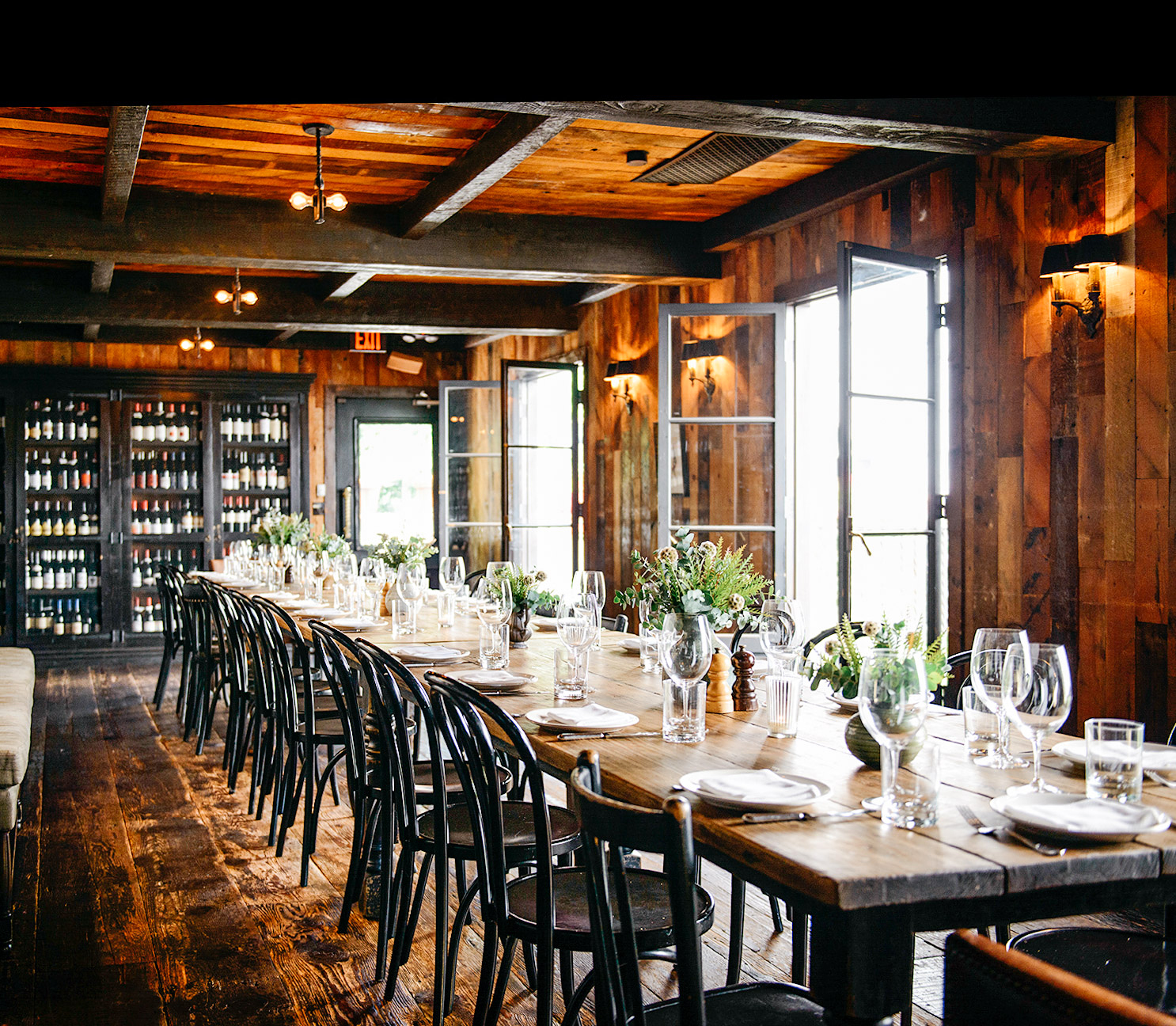 winery long table