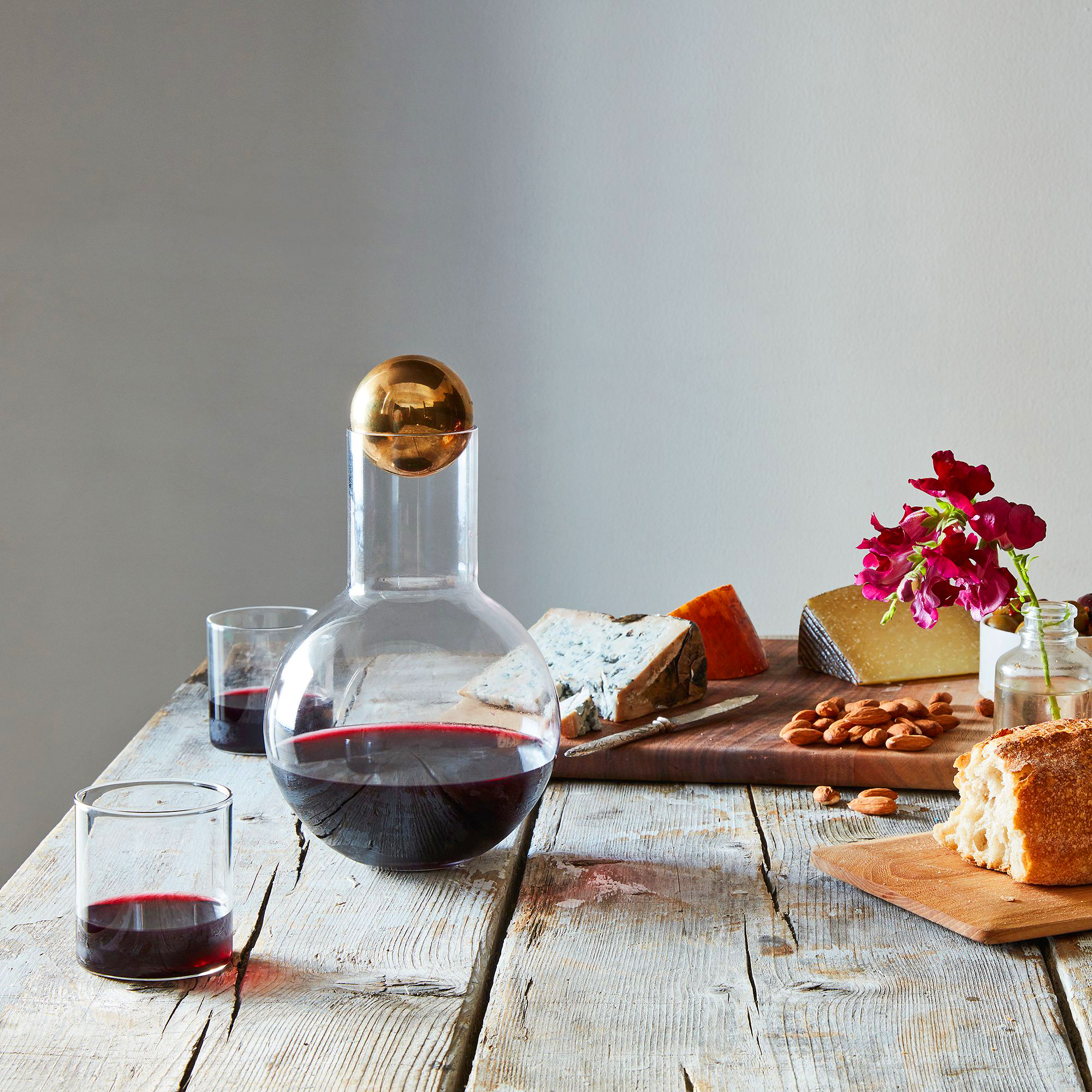 unique gifts newlyweds food 52 wine decanter