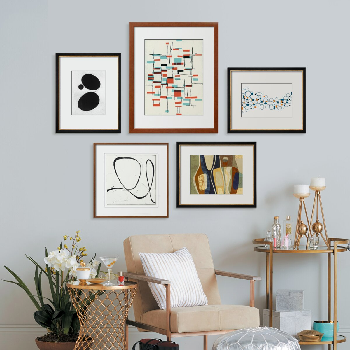 How To Hang And Arrange Pictures Martha Stewart