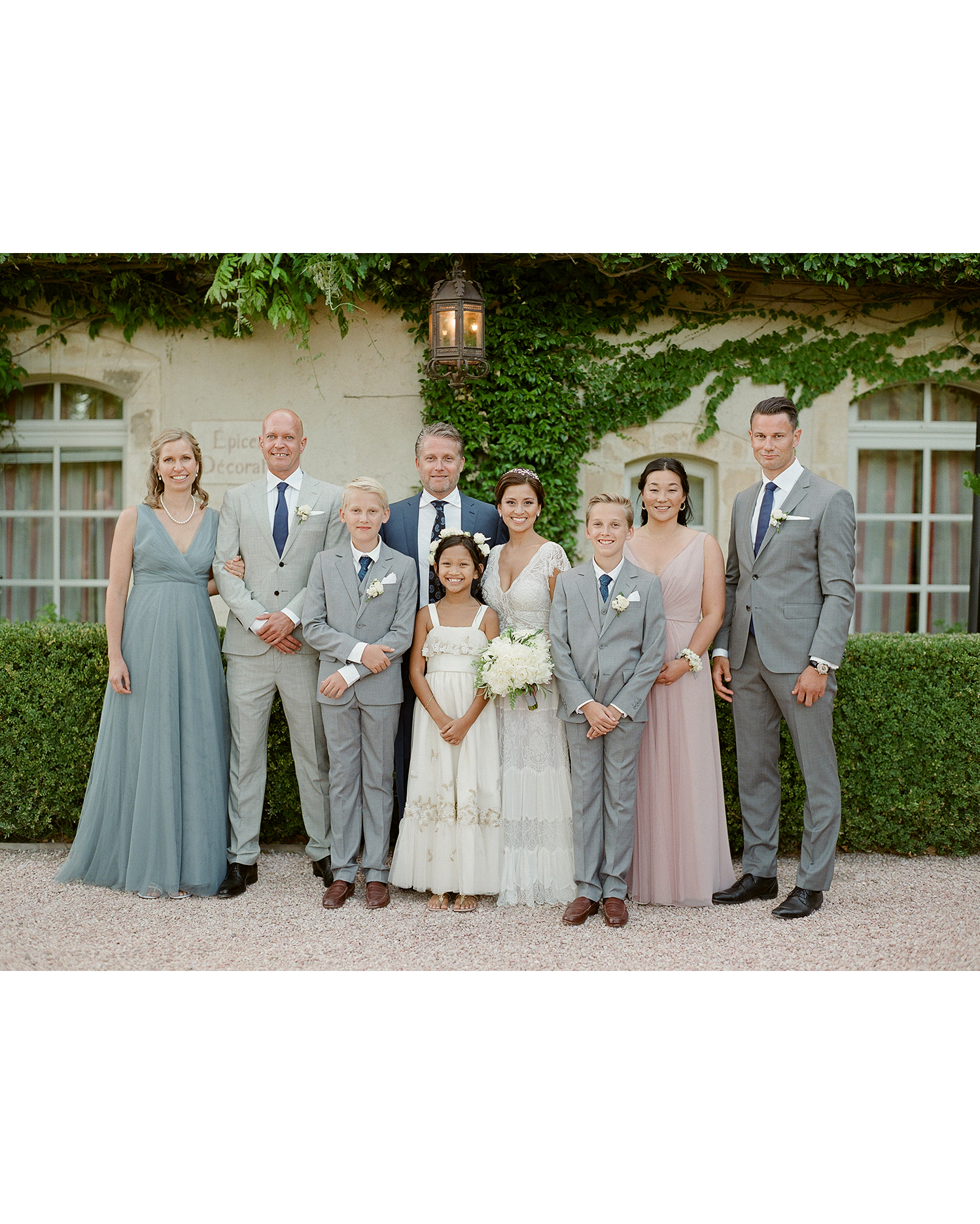 jannicke paal france wedding family group portrait
