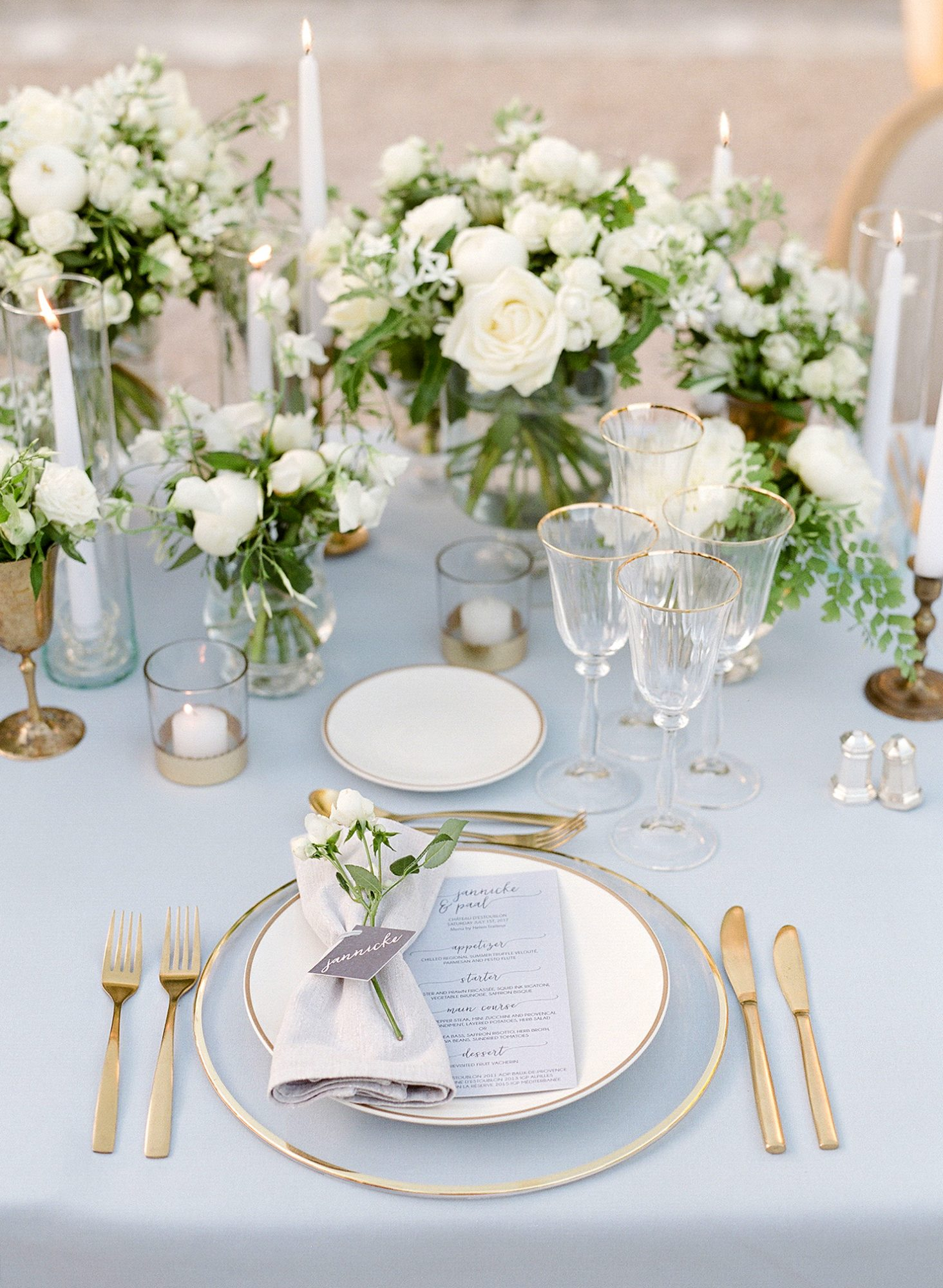 jannicke paal france wedding placesetting