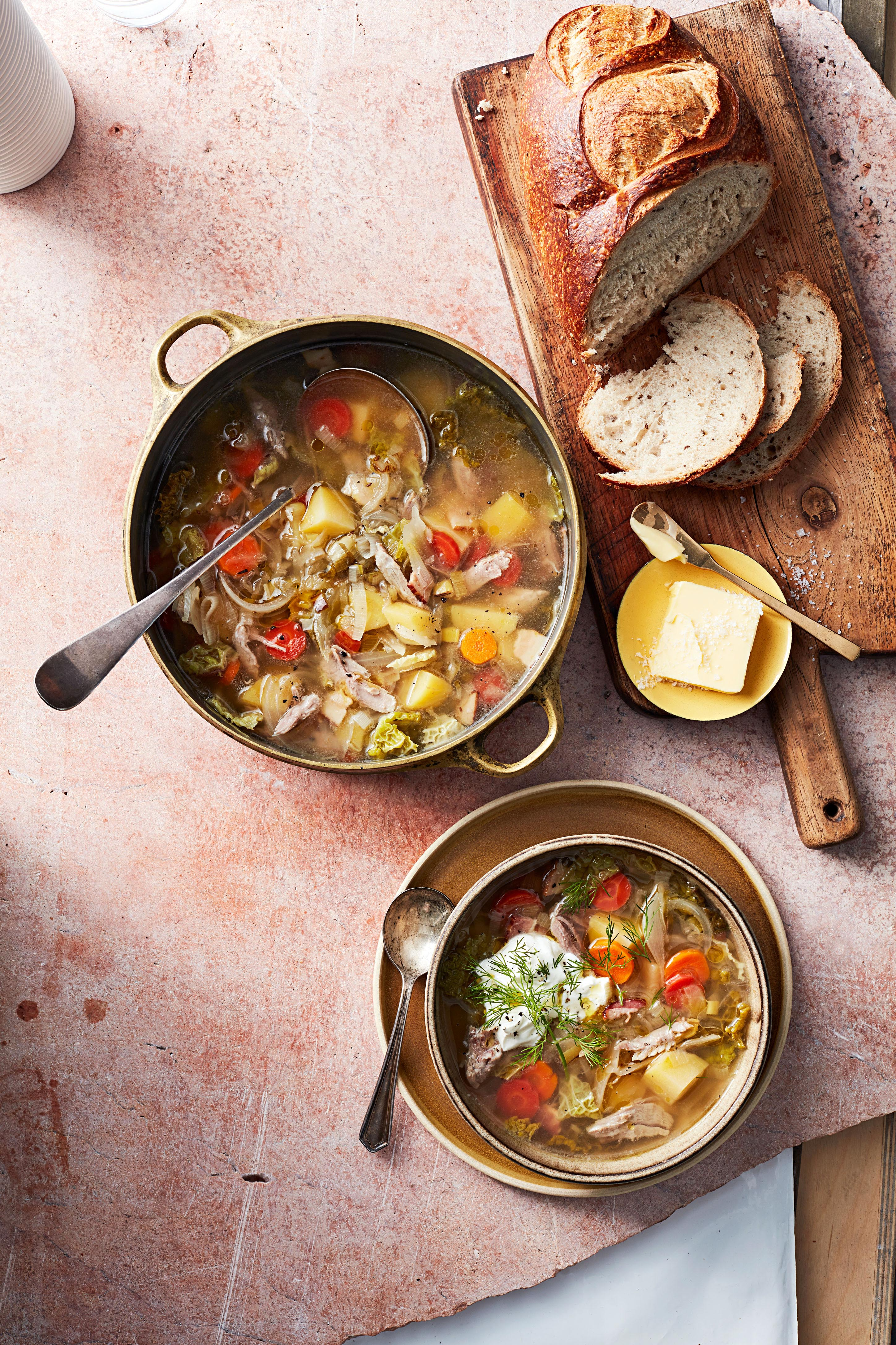 Pork-and-Cabbage Soup