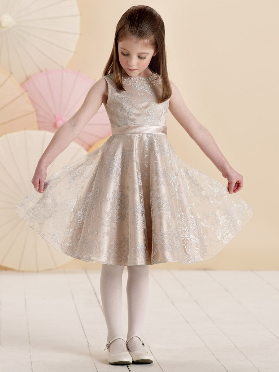 Joan Calabrese Champagne Dress