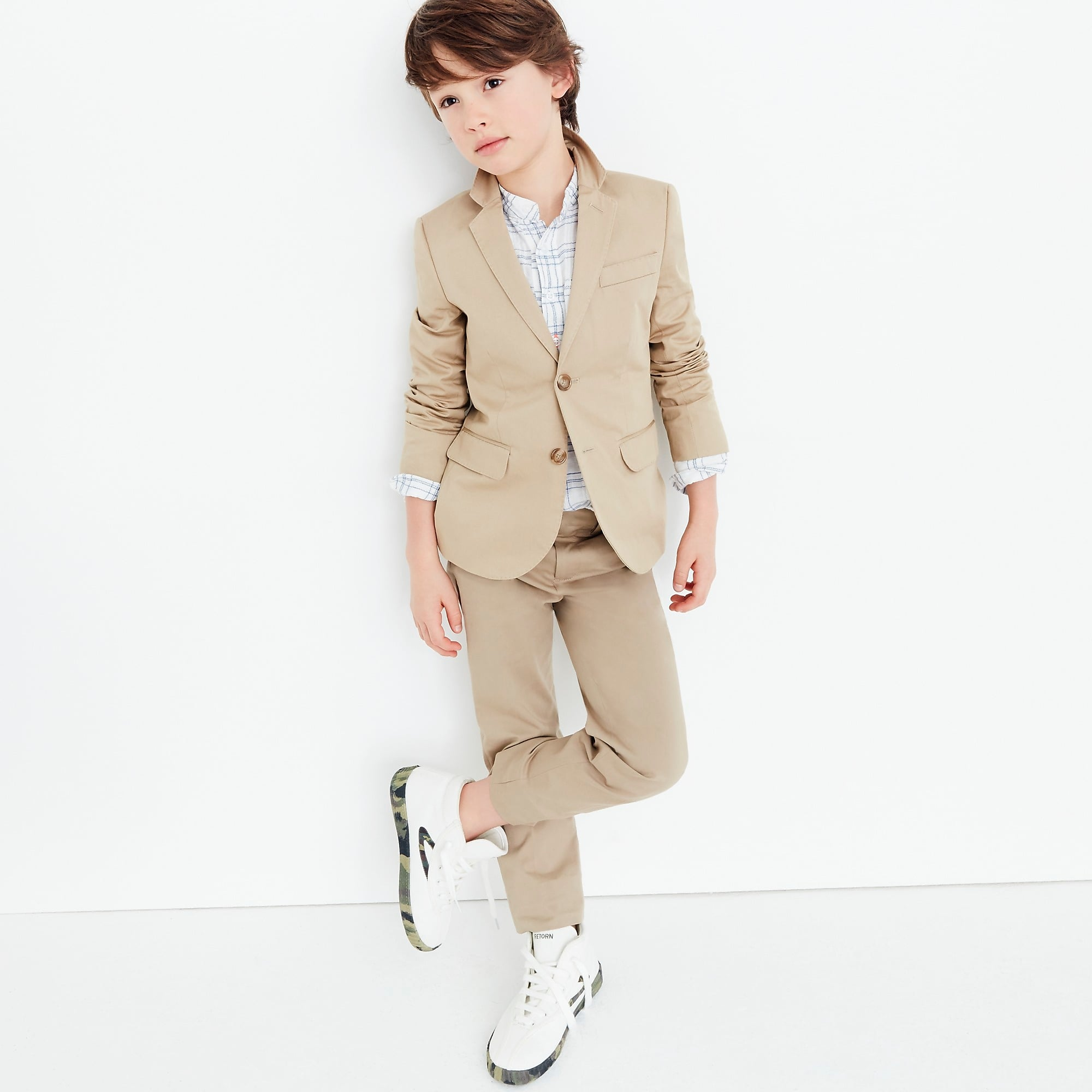 Suit Jacket and Suit Pant in Italian Stretch Chino
