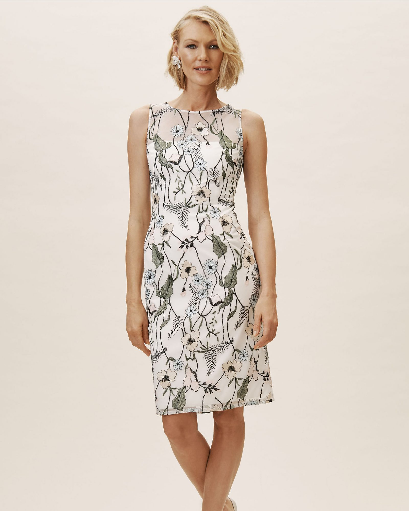 Short Dresses For The Mothers Of The Bride And Groom Martha Stewart