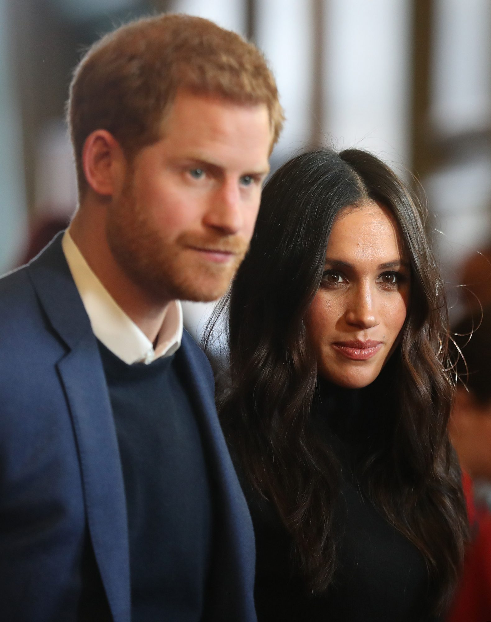 Meghan Markle and Prince Harry in Edinburgh
