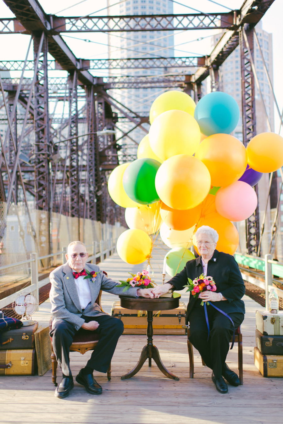 Wedding Photos, 61 Years Later
