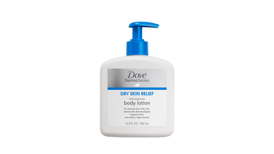 beauty product dove lotion