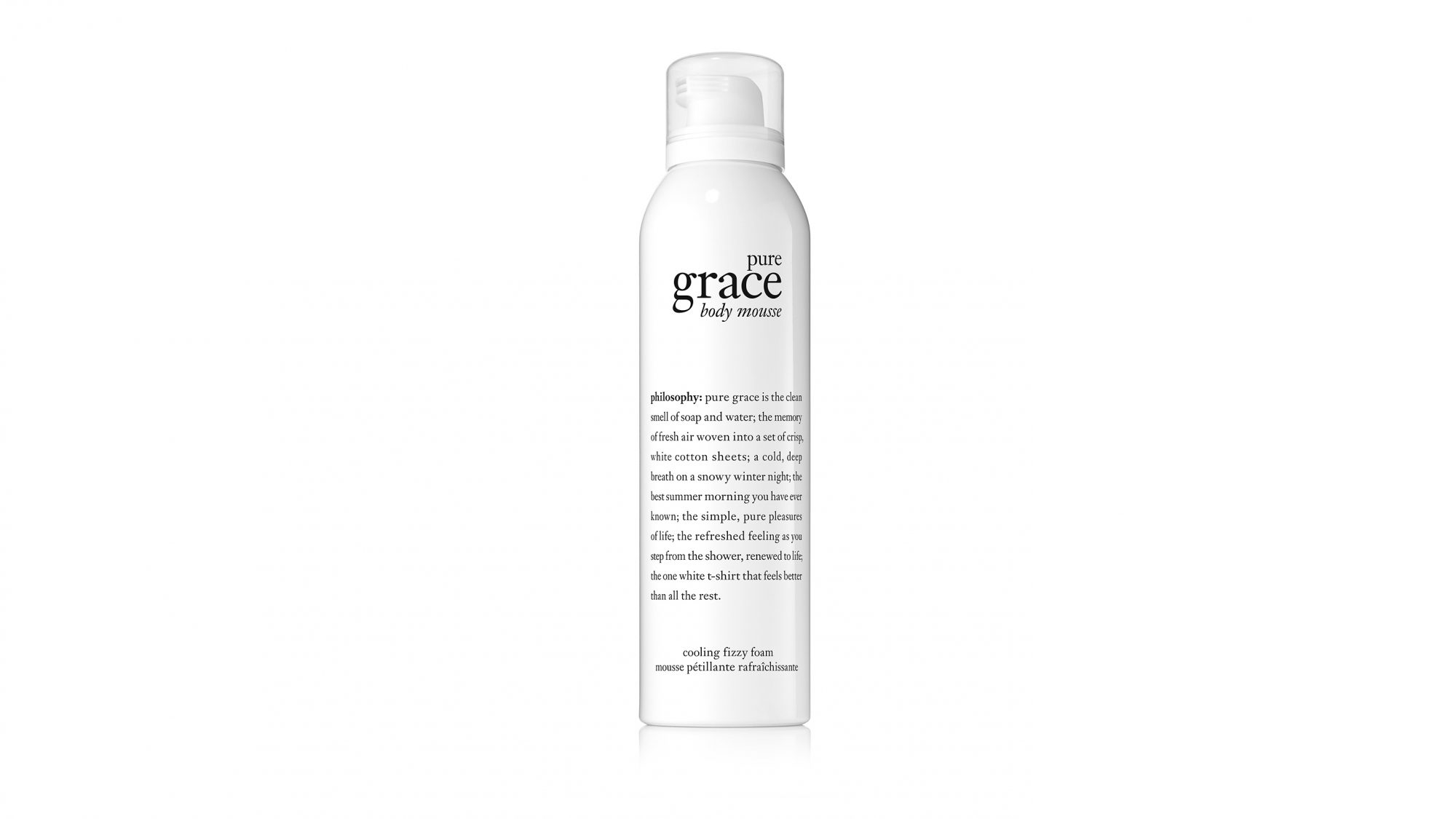 beauty product philosophy body mousse