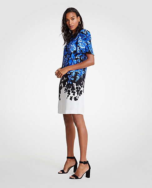 Ann Taylor Floral Toile Mother of the Bride Dress