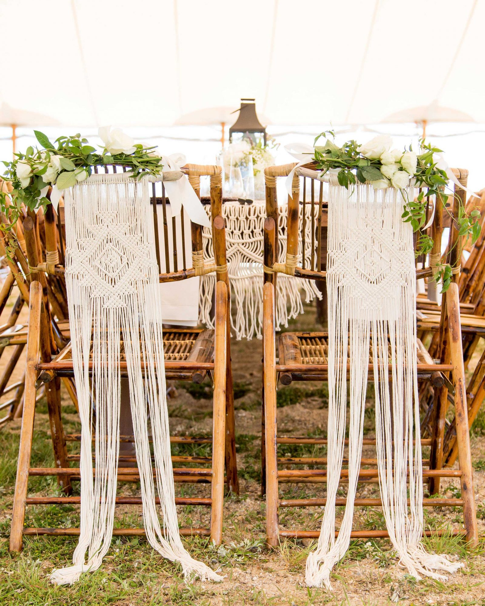 wedding chairbacks