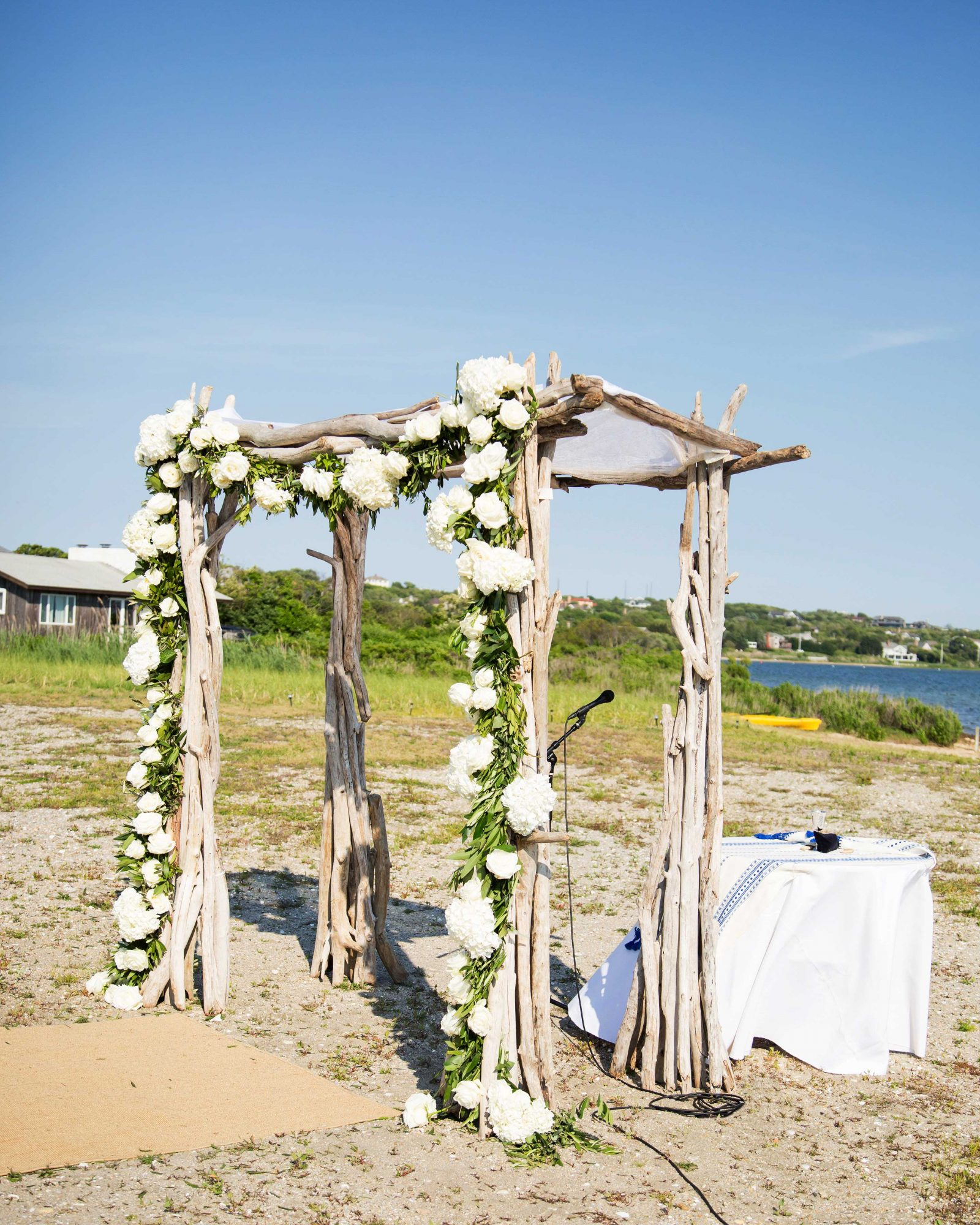 wedding chuppah ceremony site