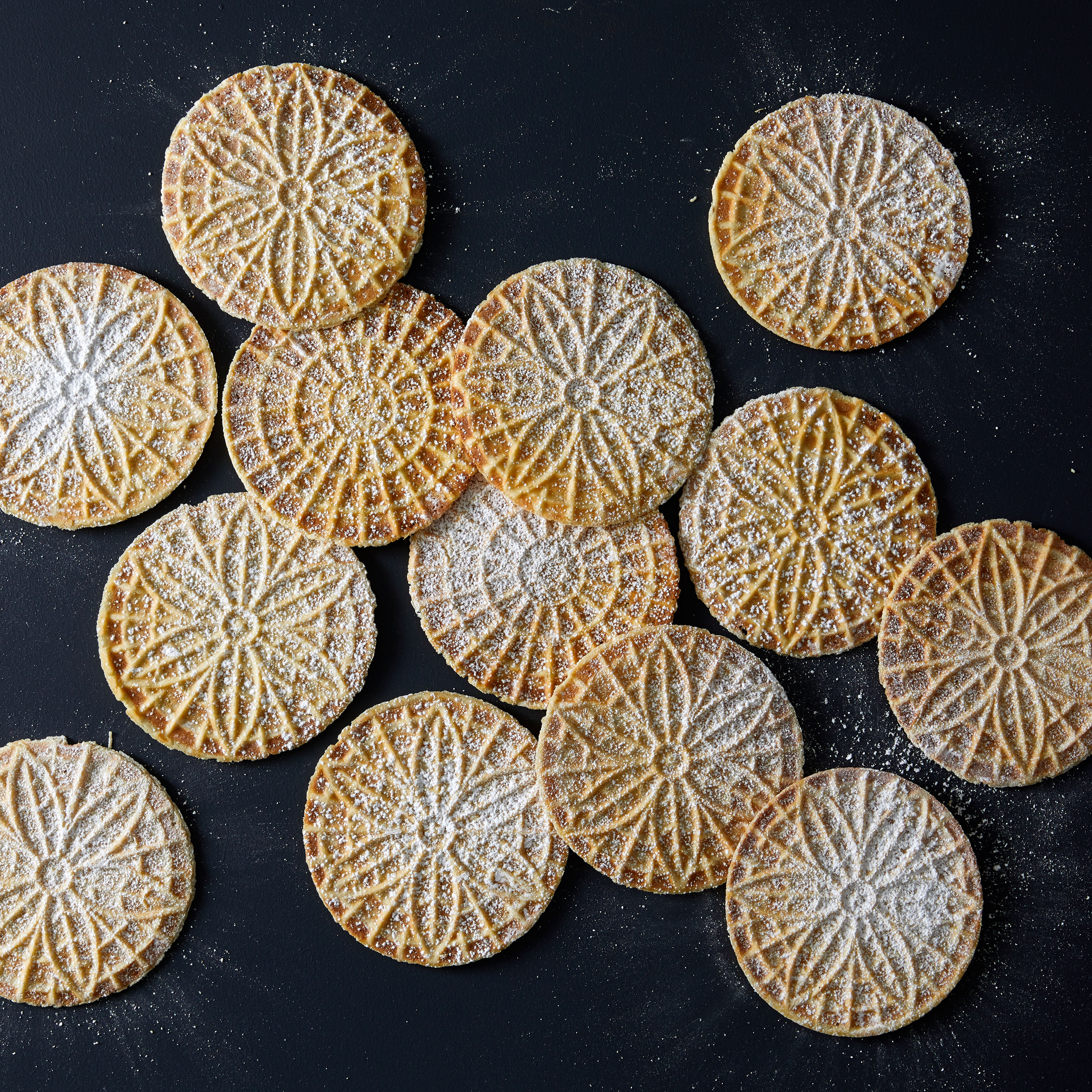 anise pizzelle cookies