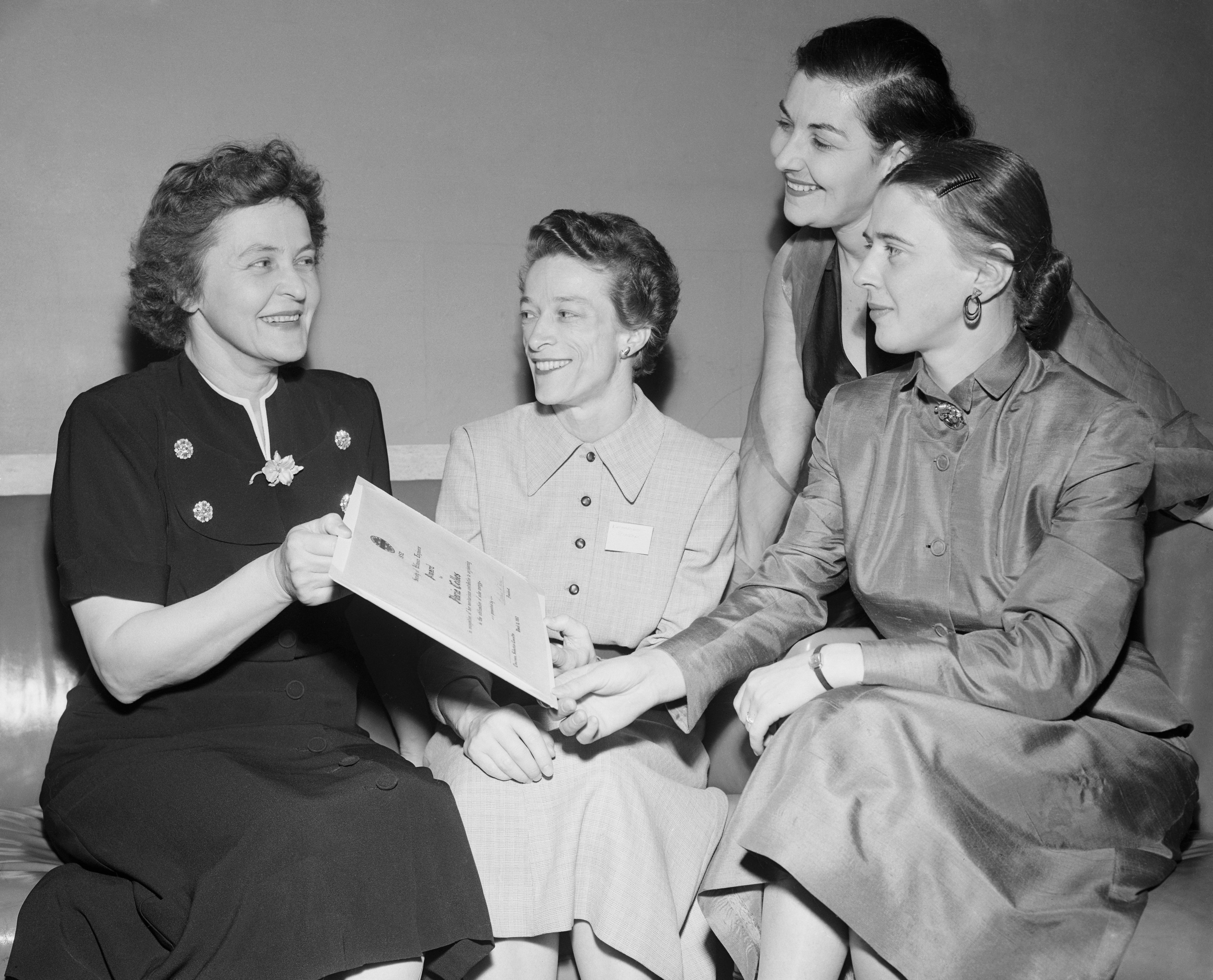 maria telkes with society of women engineers