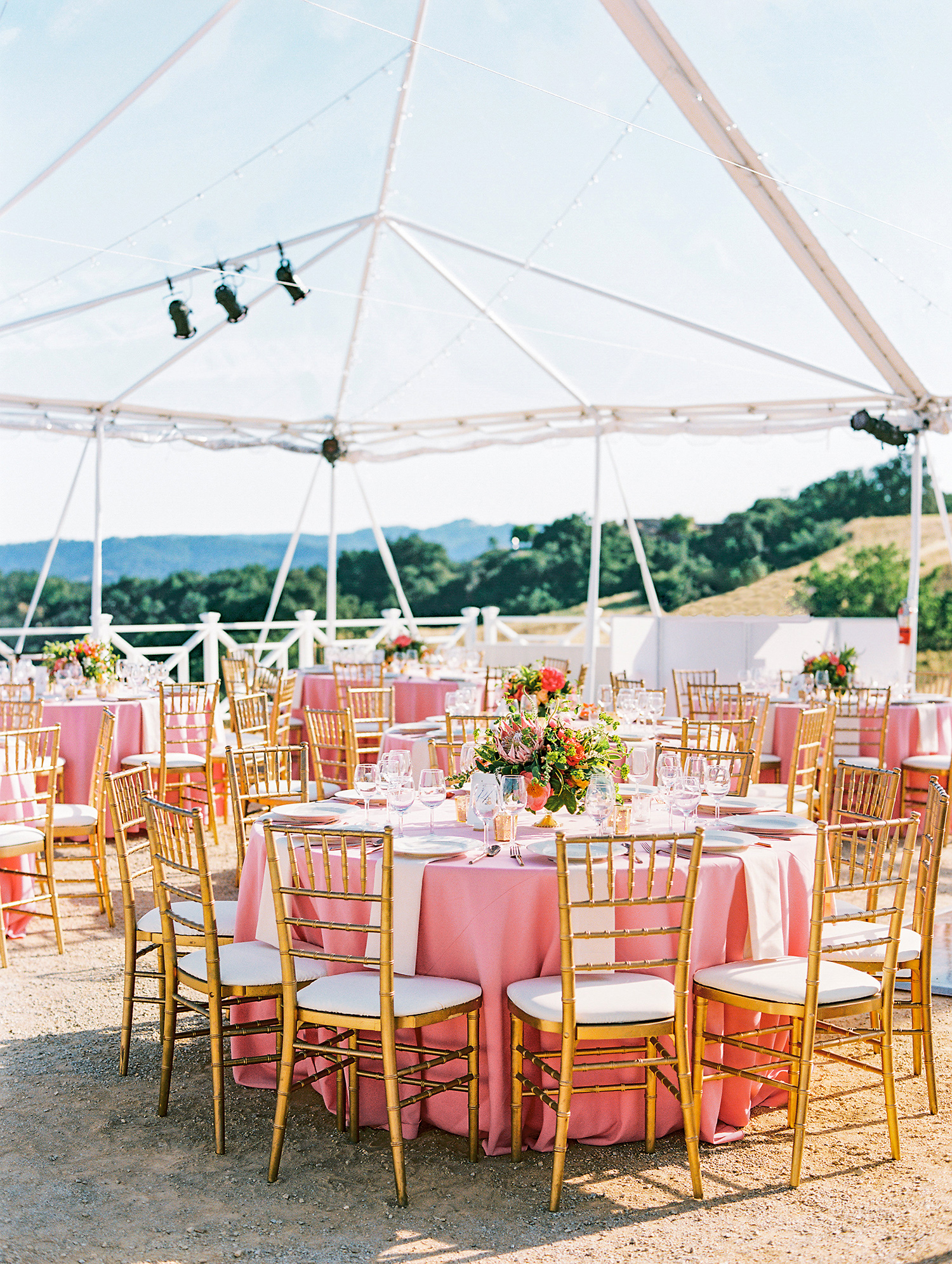 caitlin amit indian wedding round tables