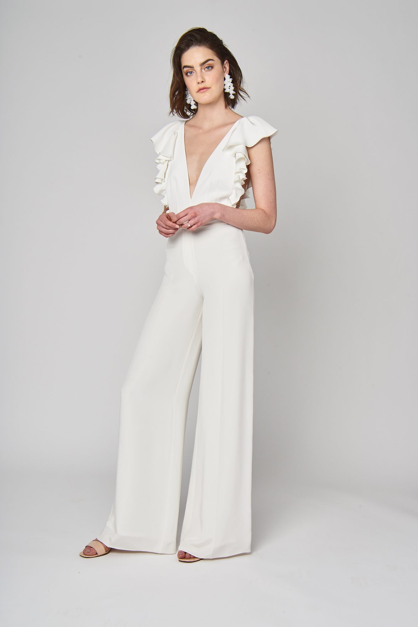alexandra grecco wedding pant outfit spring 2019