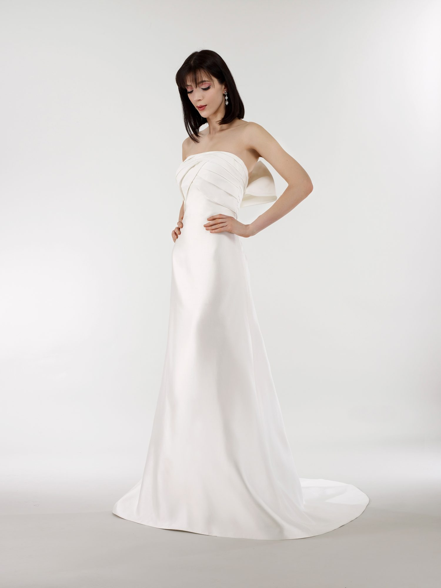 steven birnbaum bridal wedding dress spring 2019 strapless a-line