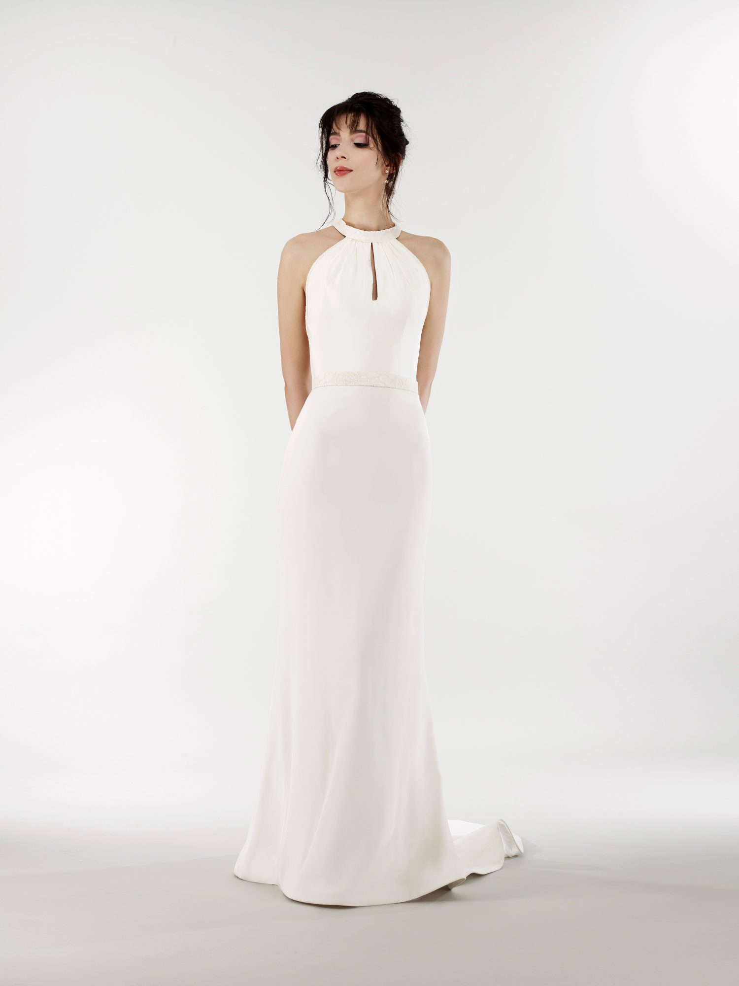 steven birnbaum bridal wedding dress spring 2019 keyhole halter