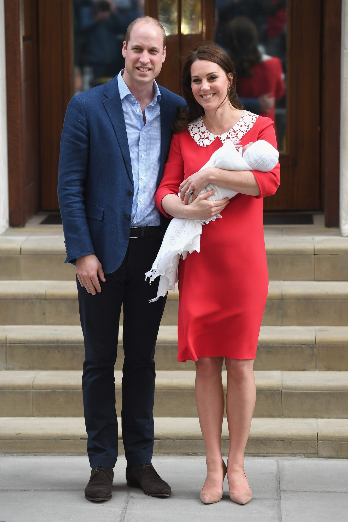 Kate and William with Third Royal Baby
