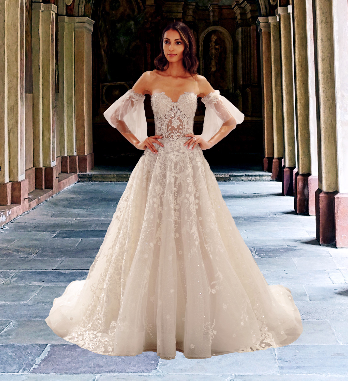 Eve of Milady wedding dress spring 2019 sweetheart strapless ballgown