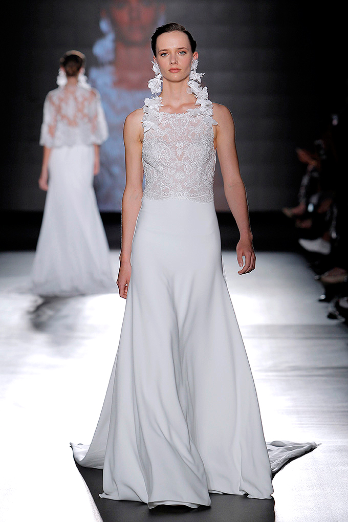 rosa clara dress spring 2019 lace embroidered bodice a-line