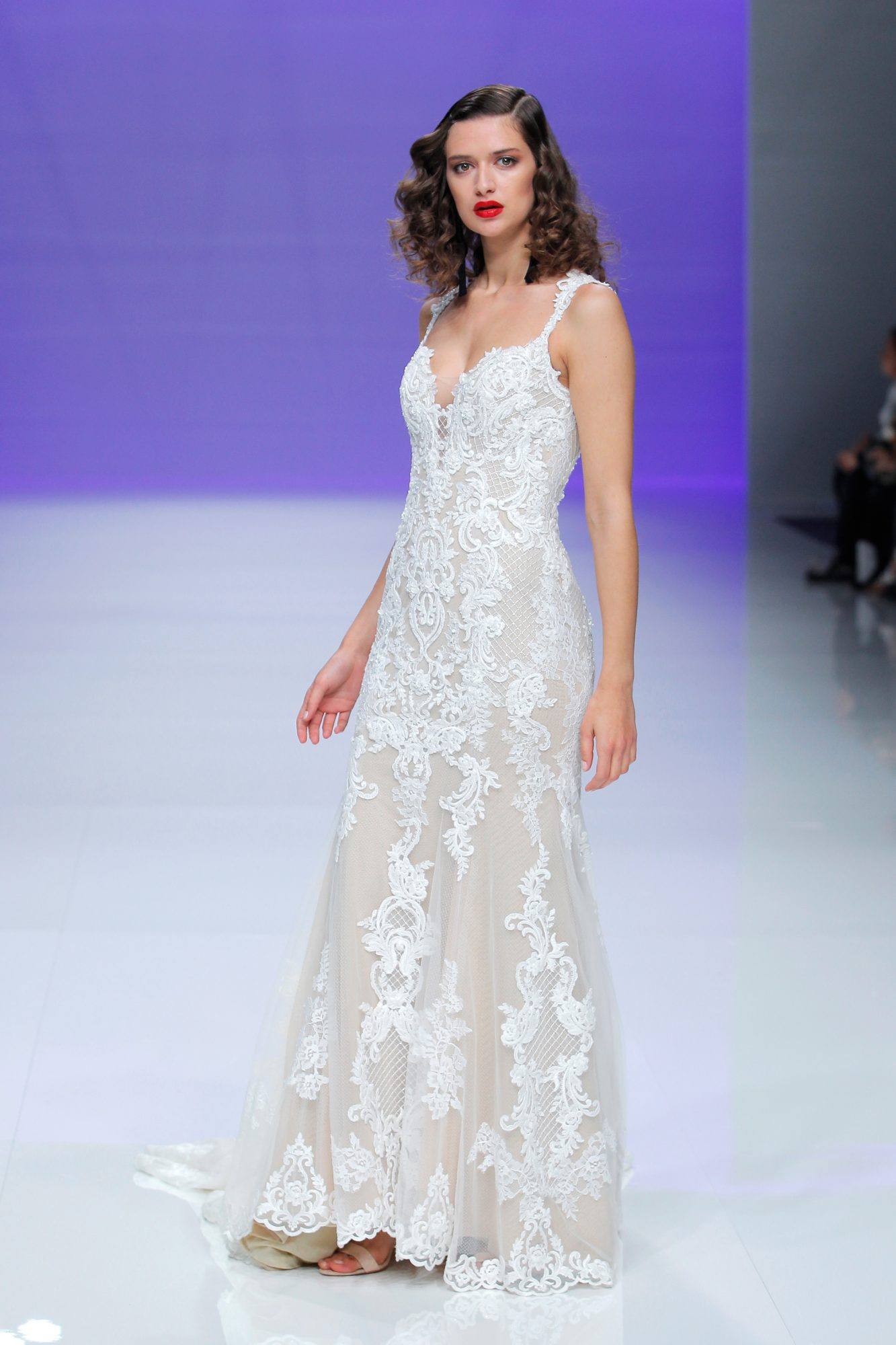maggie sottero dress spring 2019 lace sleeveless trumpet