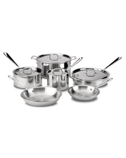 steel anniversary gifts pot set all clad
