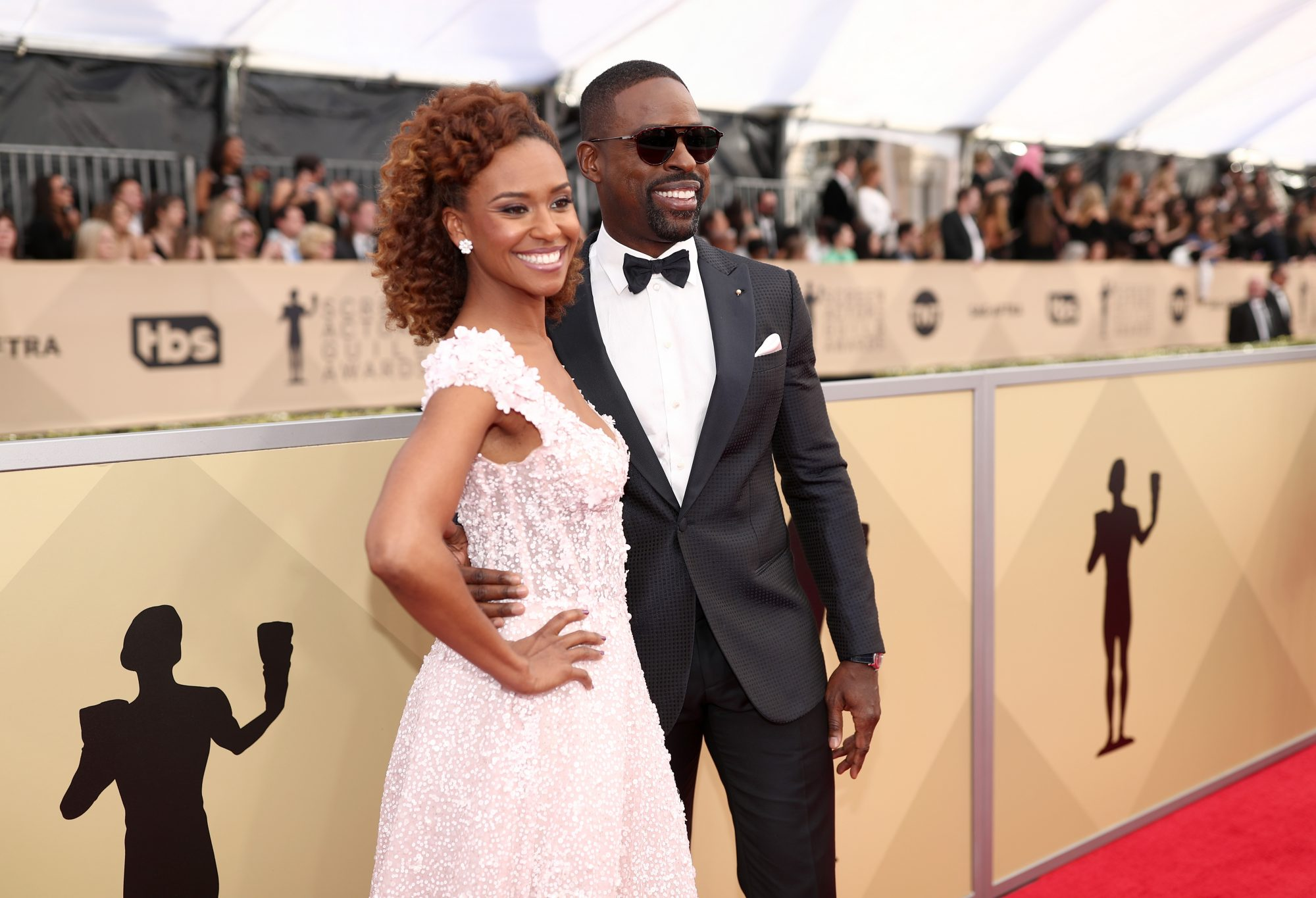 Sterling K Brown and Ryan Michelle Bathe SAG Awards 2018
