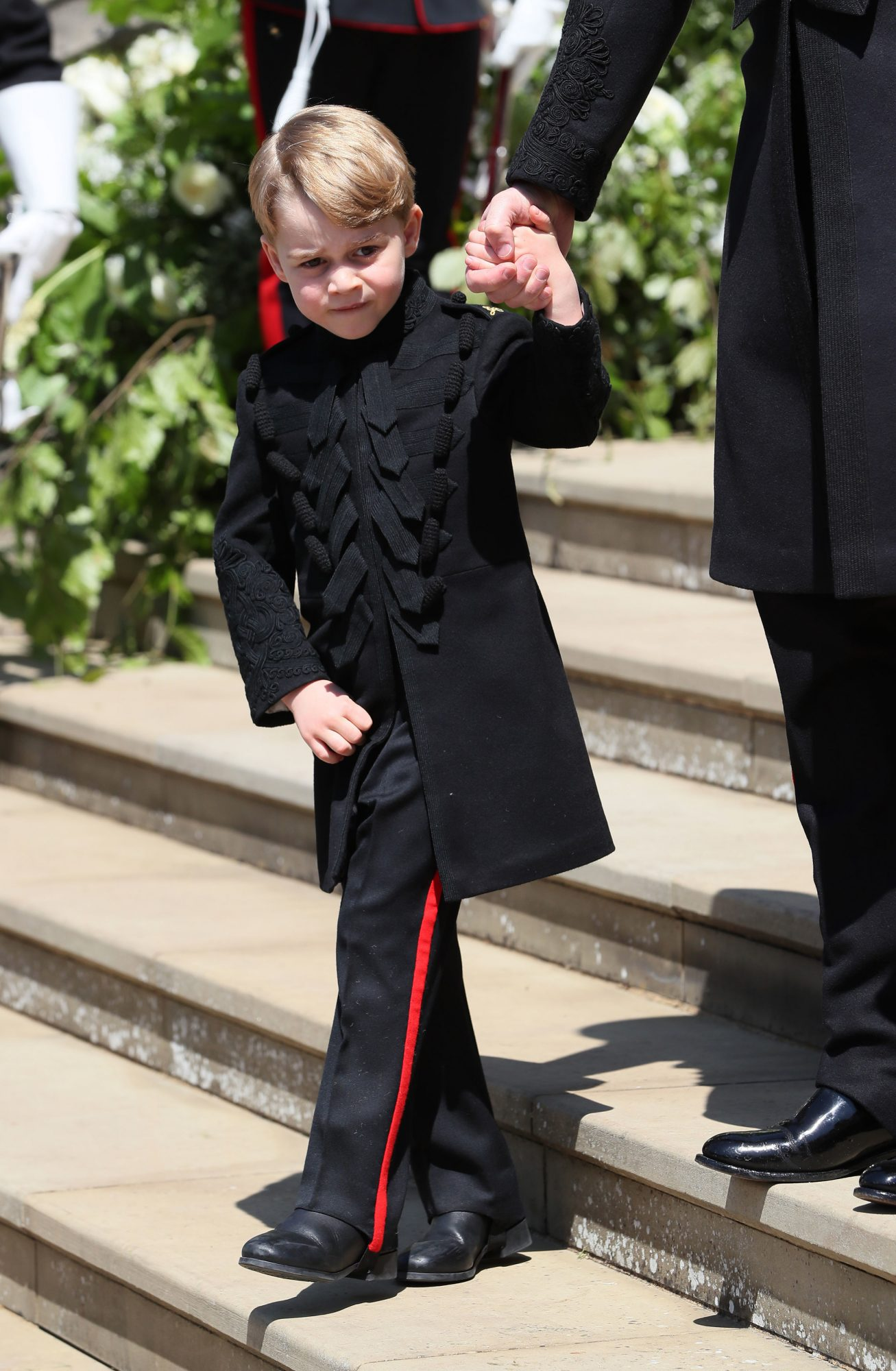 Prince George at Royal Wedding
