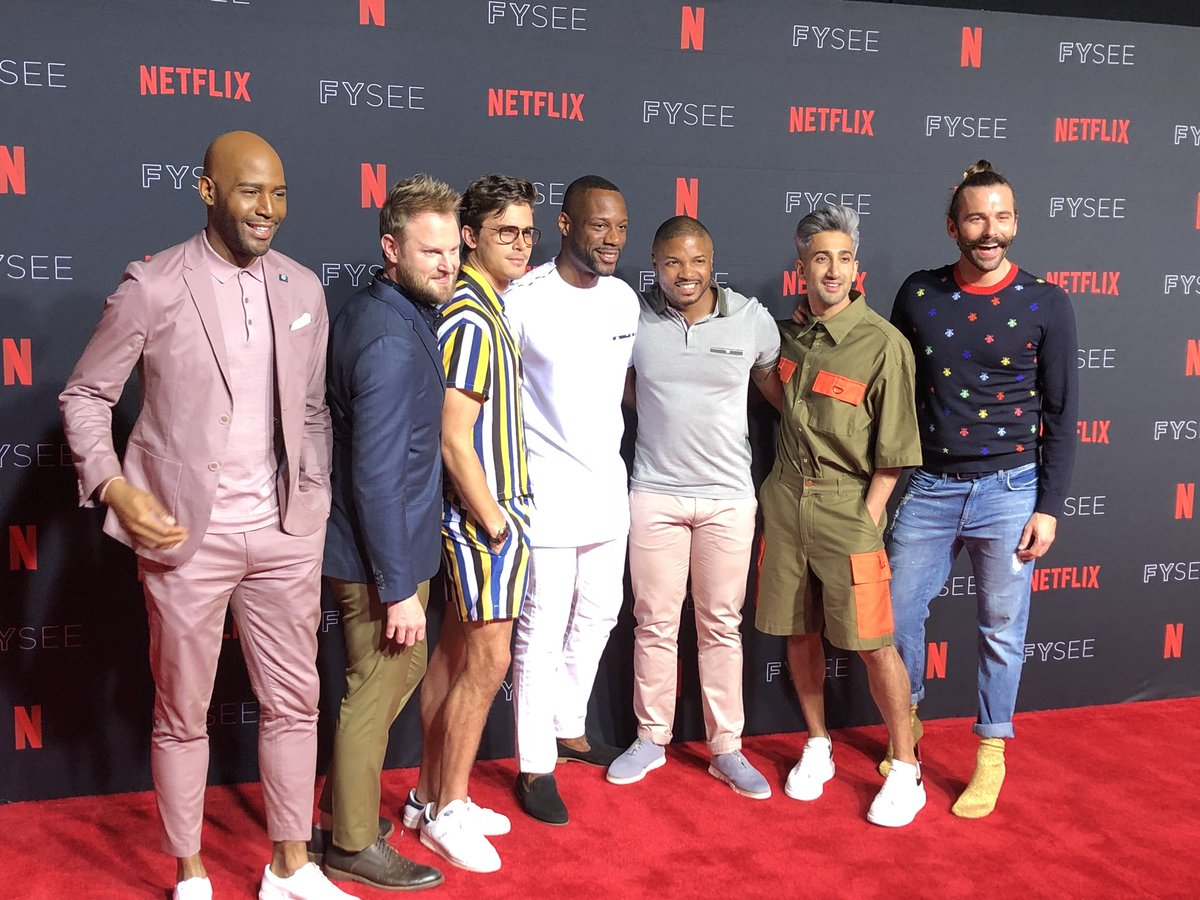 AJ Brown and Andre from Queer Eye Married
