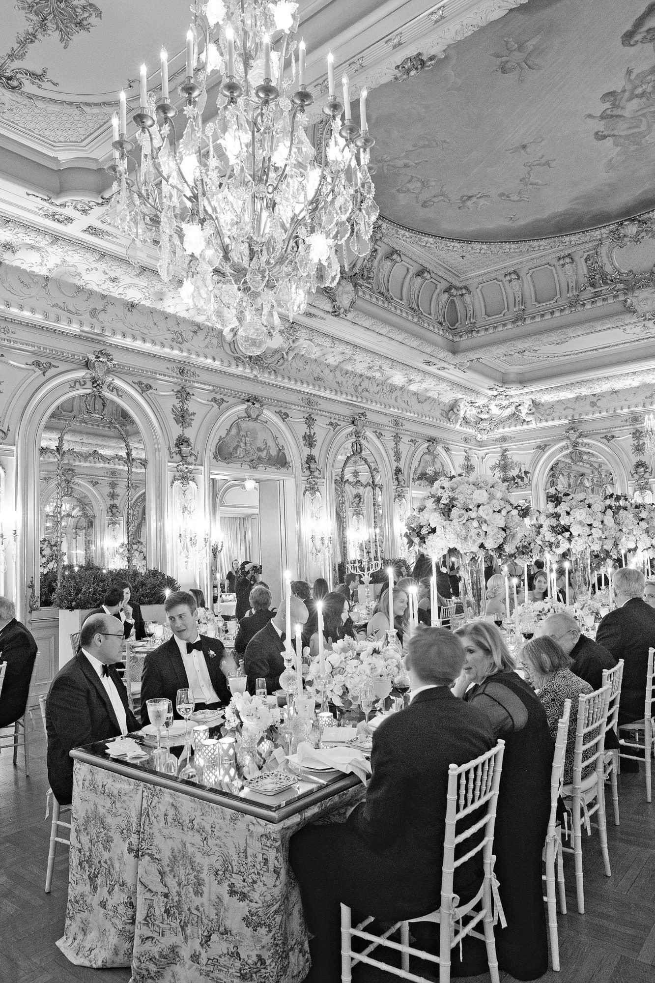 washington dc wedding reception dining room ballroom