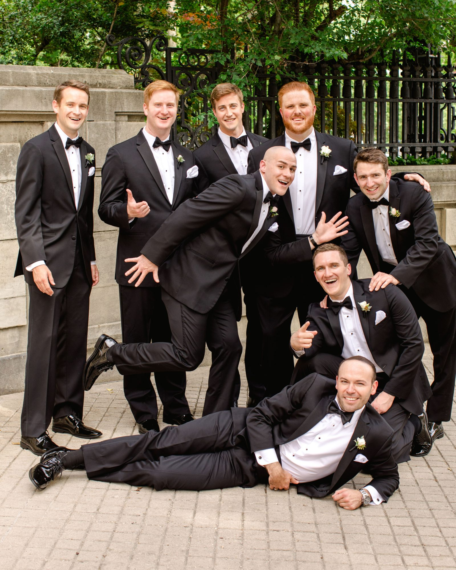 washington dc wedding groomsmen