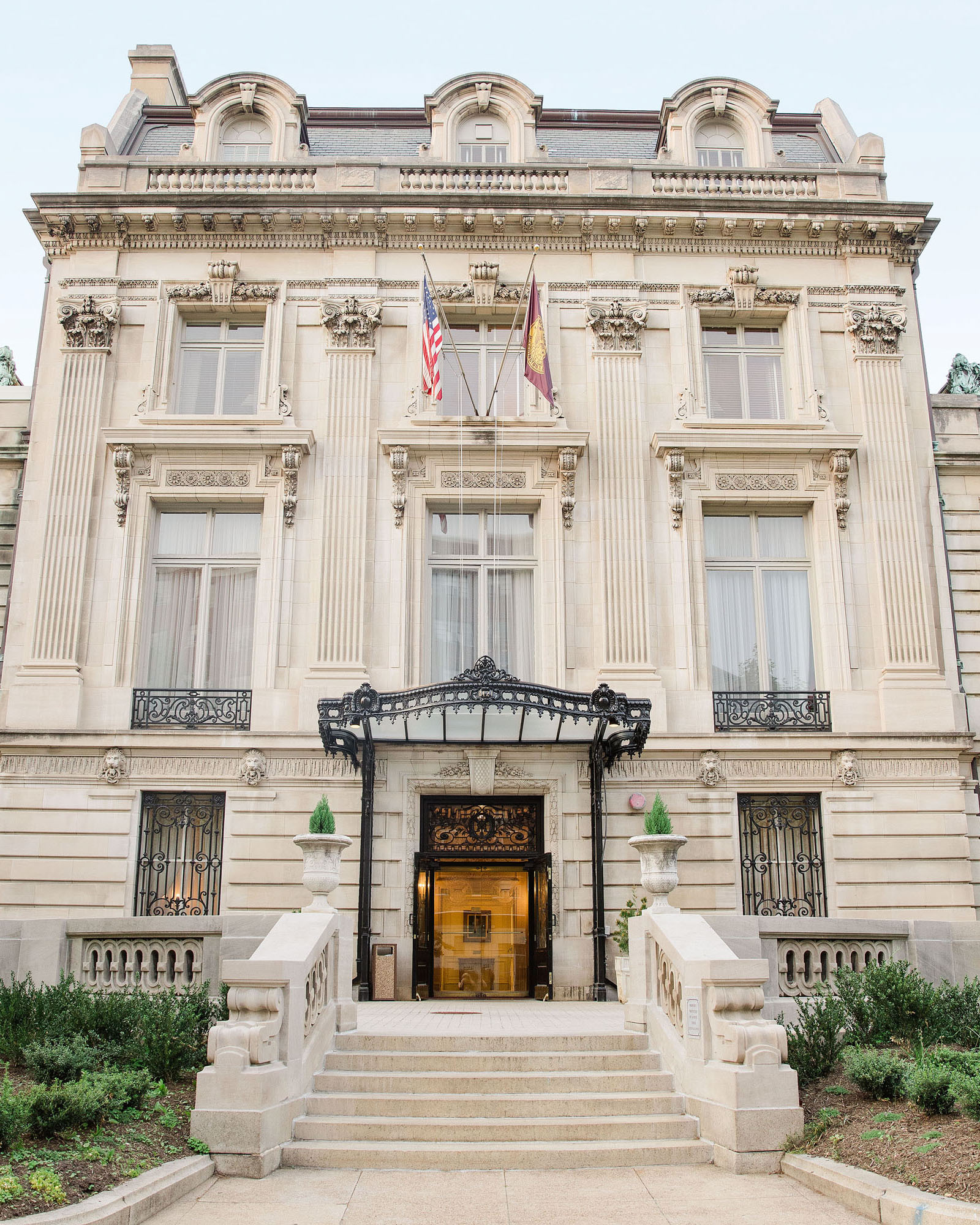 washington dc wedding venue private club exterior