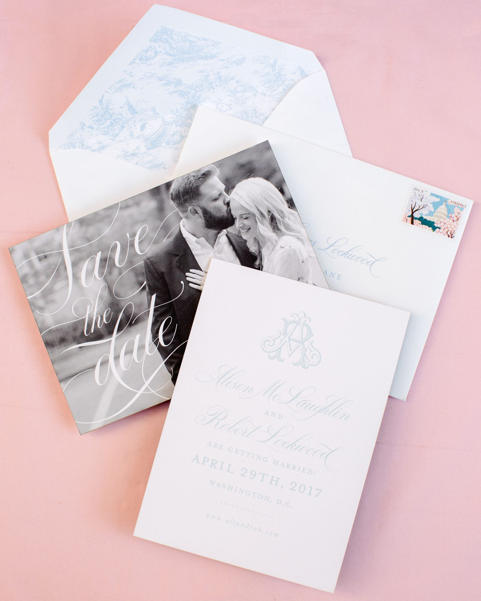 washington dc wedding save the dates stationery