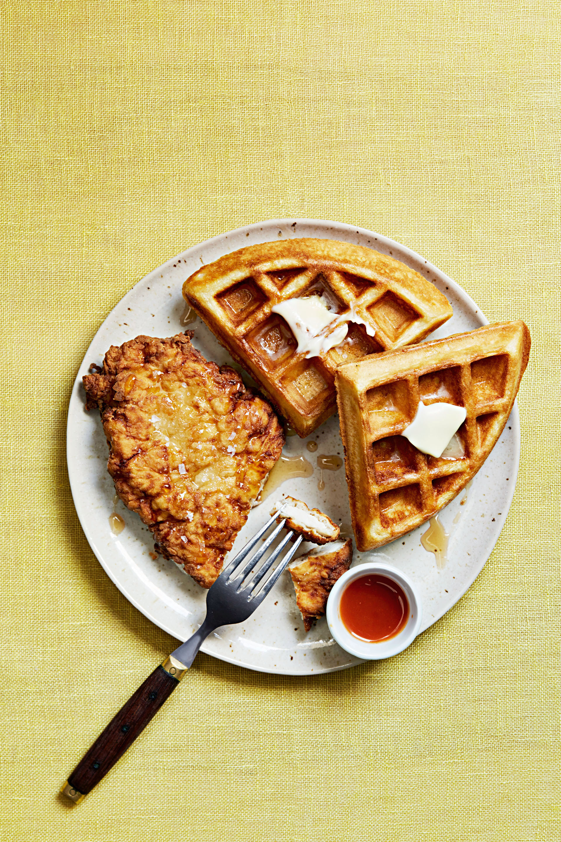 fried chicken waffles