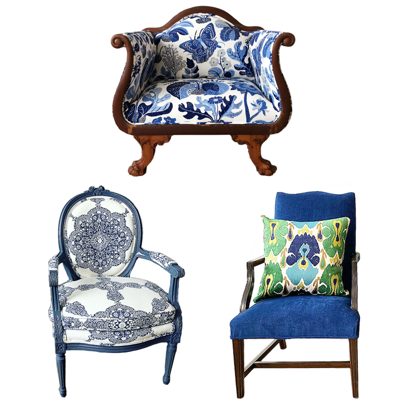 furniture makeover afters chairs settee