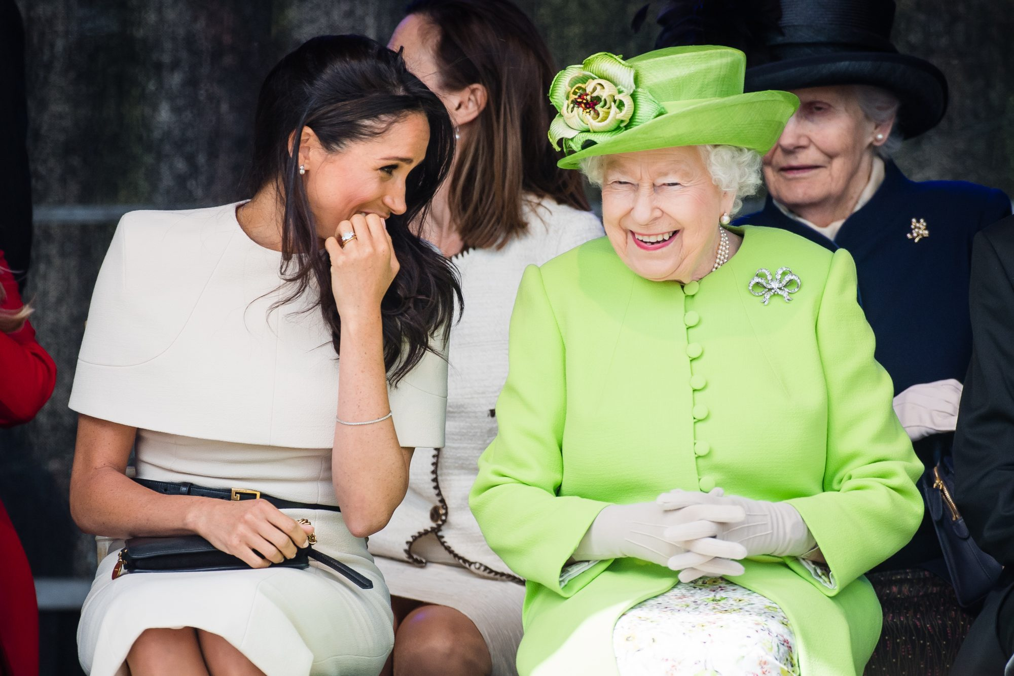Queen Elizabeth and Meghan Markle Cheshire
